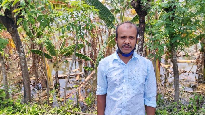 Biswajit Das lost shrimp worth around ₹1.2 million