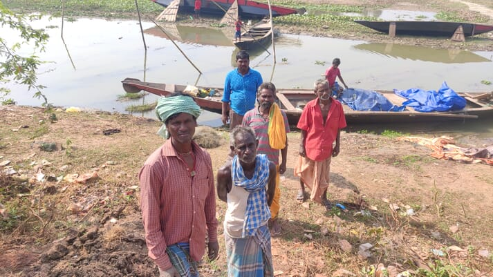 200,000 fishermen in 132 villages across the Chilika region have been affected by declining catches in the lagoon