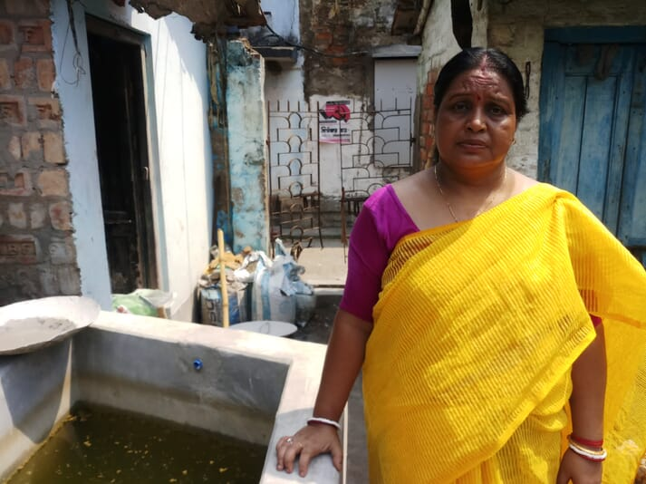 Producing ornamental fish at home is a lifeline for Chandra Mondal's whole family