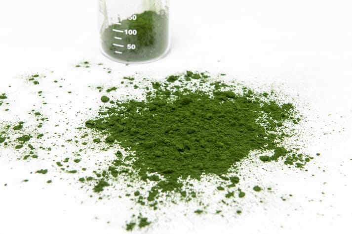 Algal meal is one possible substitute for soy protein concentrate in aquafeeds