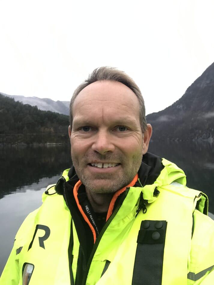 Geir Stang Hauge, CEO of BioSort