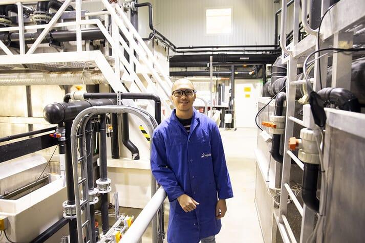Nofima researcher Carlo C Lazado