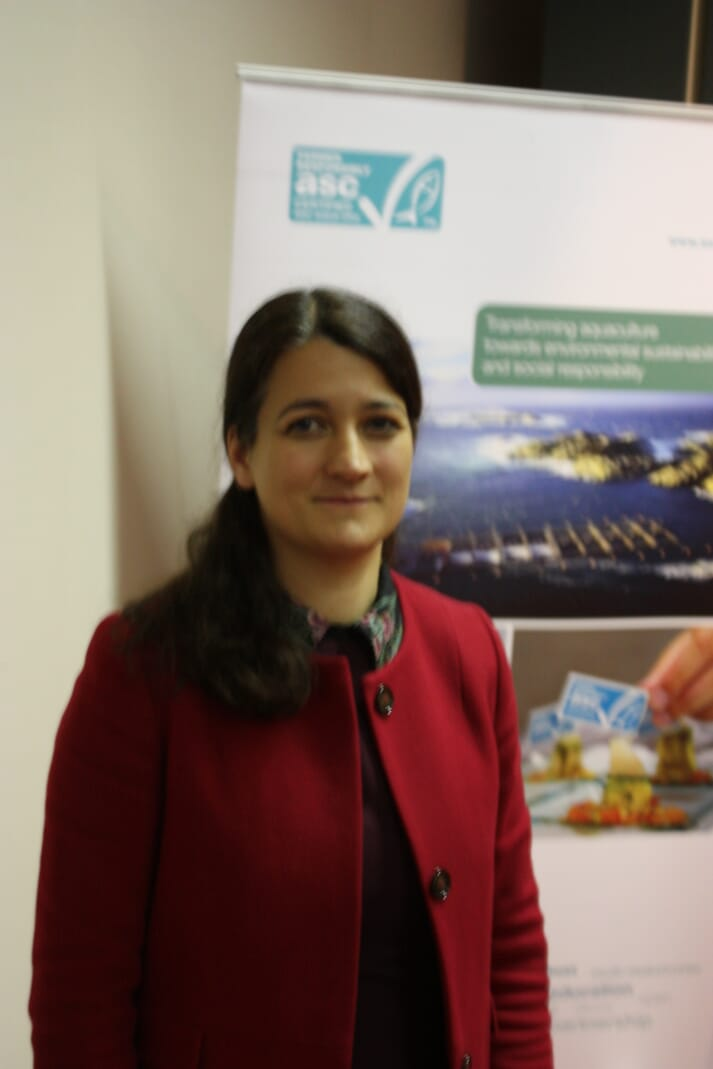 Catarina Martins, Mowi's first chief sustainability officer