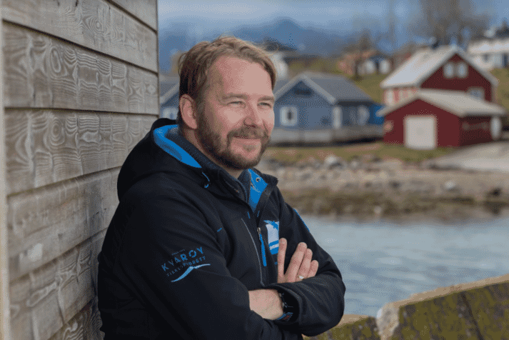 Former economics teacher Alf-Gøran Knutsen was appointed CEO of Kvarøy Arctic after he married into the family firm