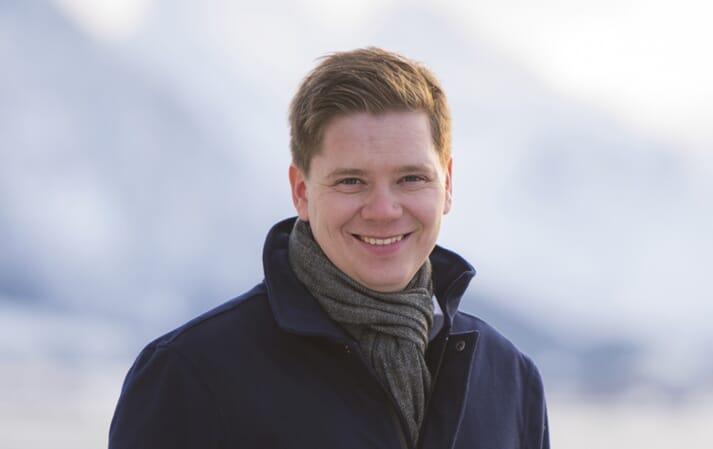 Martin Rasmussen, CEO of Andfjord Salmon