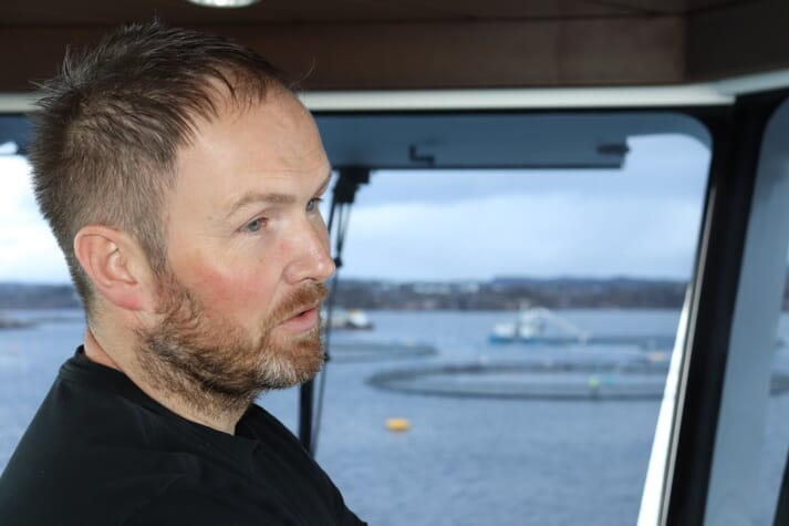 Magnus Gjerde predicts that the vessel will be dwarfed by some of the wellboats operating in Norway in 10 years time