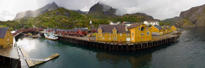 The conference is being held in Nusfjord.