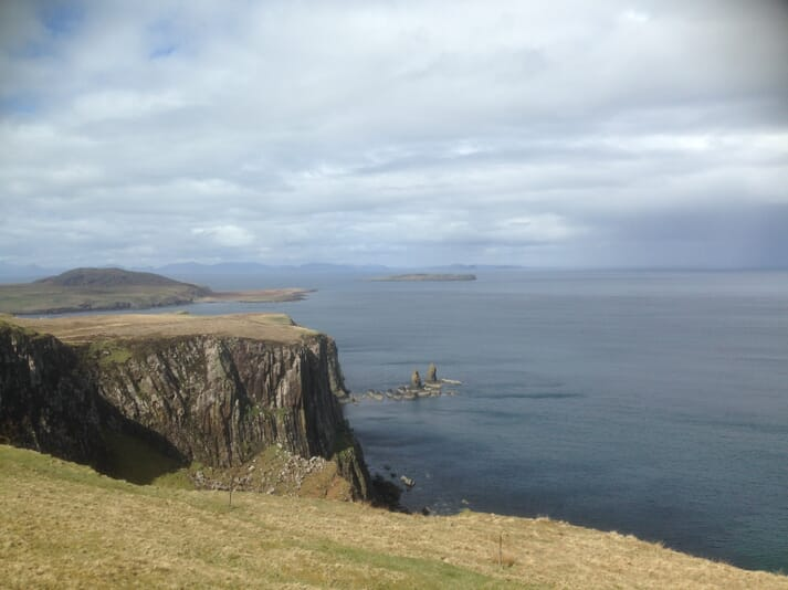 The site of one of Organic Sea Harvest's 4 planned salmon farms, off Skye