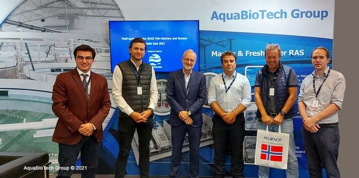 Bluefront Equity has invested in AquaBioTech Group