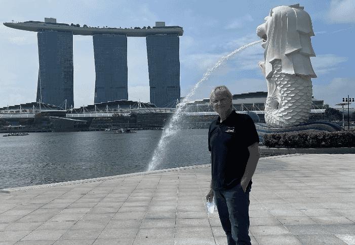 Esben Johnsen, CEO of Singapore RAS