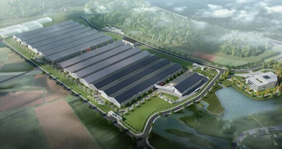 The Ningbo RAS facility is set to initially produce 8,000 tonnes of Atlantic salmon a year