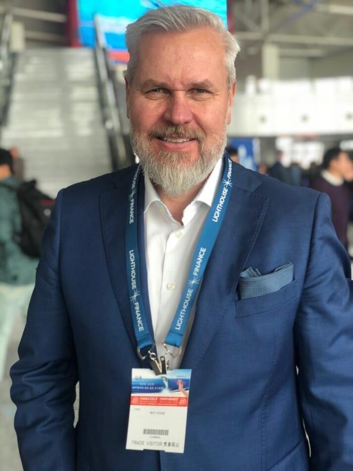 Roy Høiås, CEO of Lighthouse Finance A/S