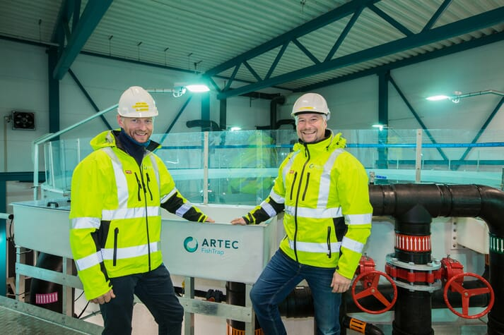 Project Manager at Artec Aqua and general manager of SalmoBreed Salten Stig-Joar Krogli is pleased with the first phase of the project.
