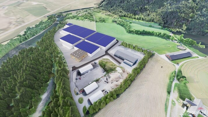 Greig Seafood own a third of the new land-based salmon producer Årdal Aqua