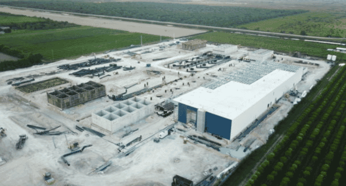 Atlantic Sapphire's first facility