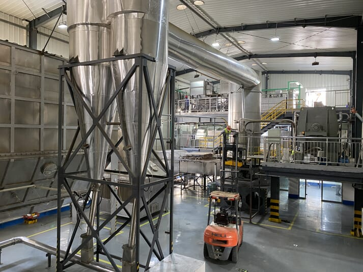 Indoor wastewater treatment facility