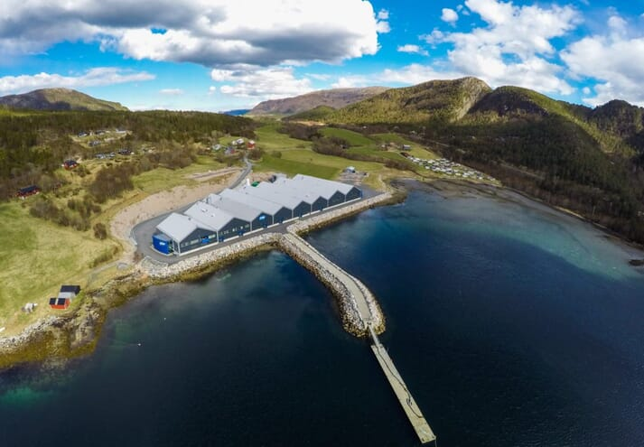 Leroy Midt's Belsvik salmon hatchery is supplying water samples for the project.