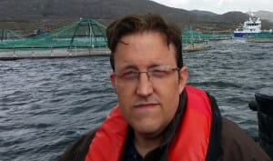 Richie Flynn: championed aquaculture for 22 years