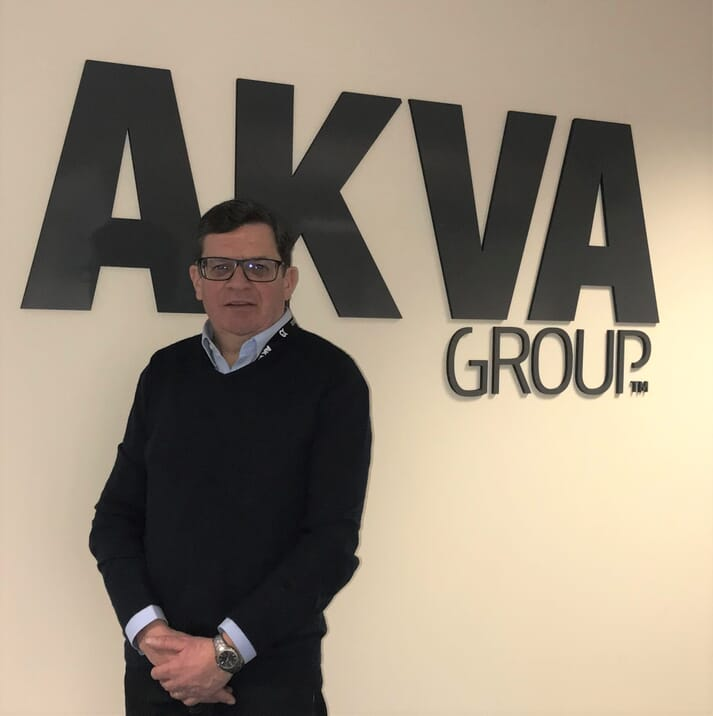 David Peach is replacing Douglas Johnson as AKVA group Scotland's commercial director