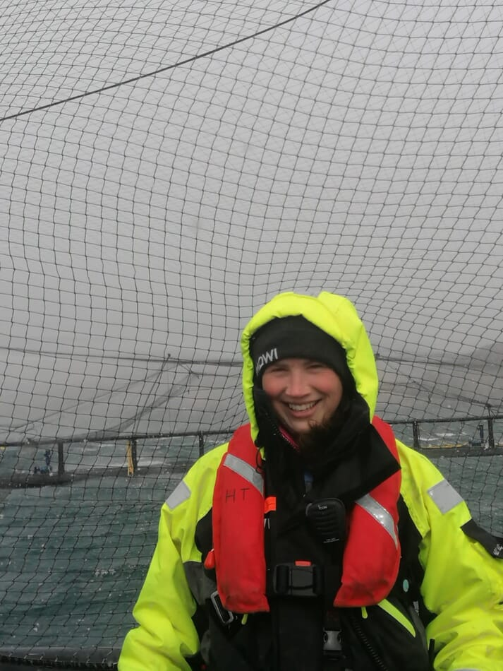 Hilary Turnbull has secured a role as Mowi's fish health manager in the Western Isles.