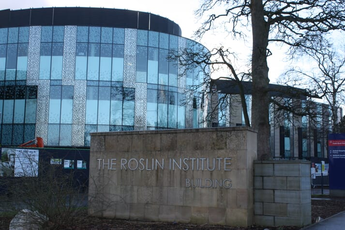 The Roslin Institute, just outside Edinburgh, has been home to a number of pioneering aquaculture projects