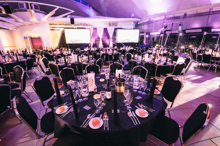 The awards will be presented at a dinner in Dynamic Earth