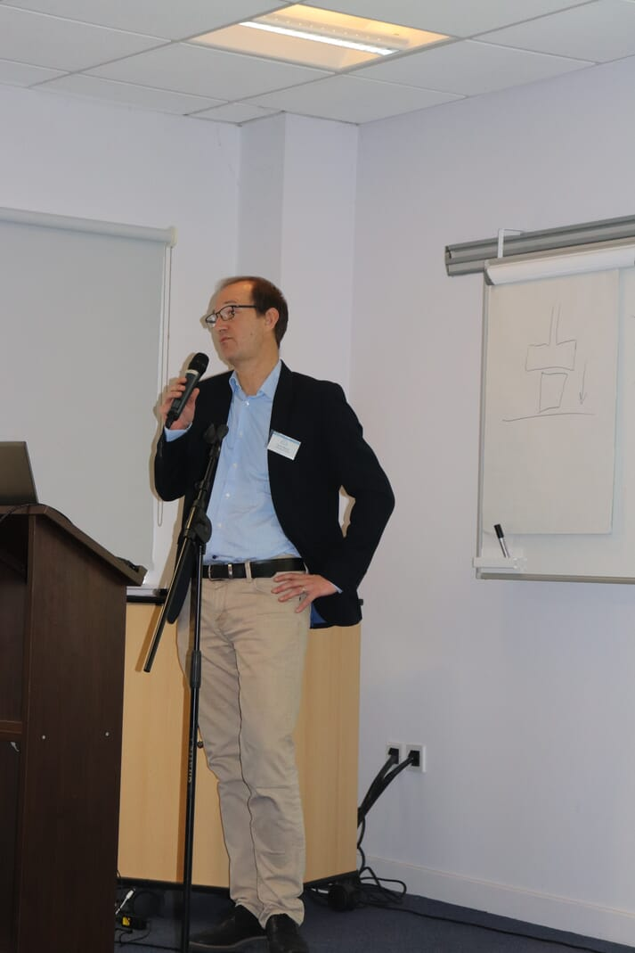 Herve Migaud led the illuminating discussion session at the end of the two-day event