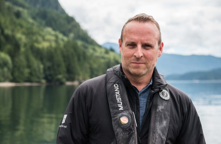 Ian Roberts, currently with Marine Harvest Canada, will take over from Steve this summer