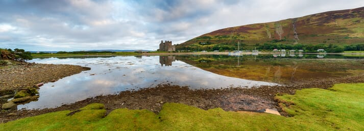 The Scottish Salmon Company aims to establish a new 5,000 tonne capacity farm close to the popular tourist destination of Lochranza, in the north of Arran