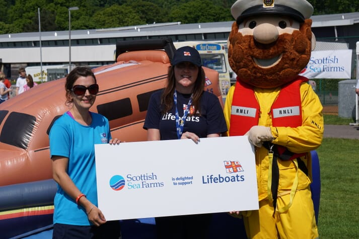 The Scottish Sea Farms event raised £52,000 for the RNLI