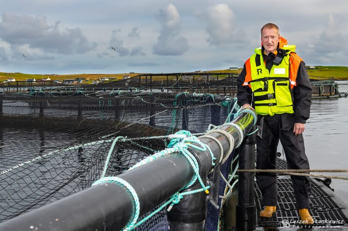 Tavish Scott knows the salmon sector well, having represented Shetland in the Scottish Parliament for 20 years