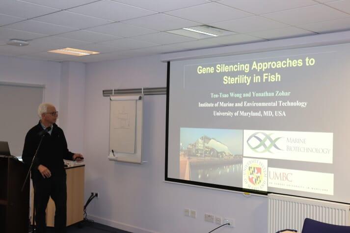 Yonathan Zohar gave a presentation on gene silencing