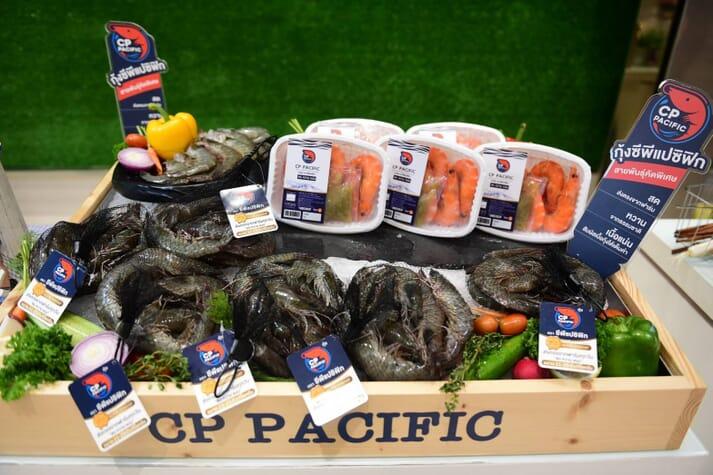 CP Foods sells vannamei shrimp under the Pacific Shrimp brand