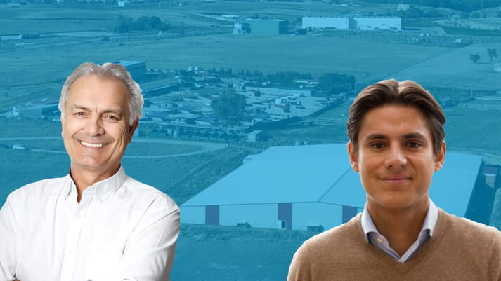 Noray Seafood's founder Bjorn Aspheim and CFO/COO Lars Backer
