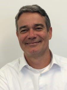 Oscar Hennig, operations director of Benchmark Genetics' shrimp-breeding programme
