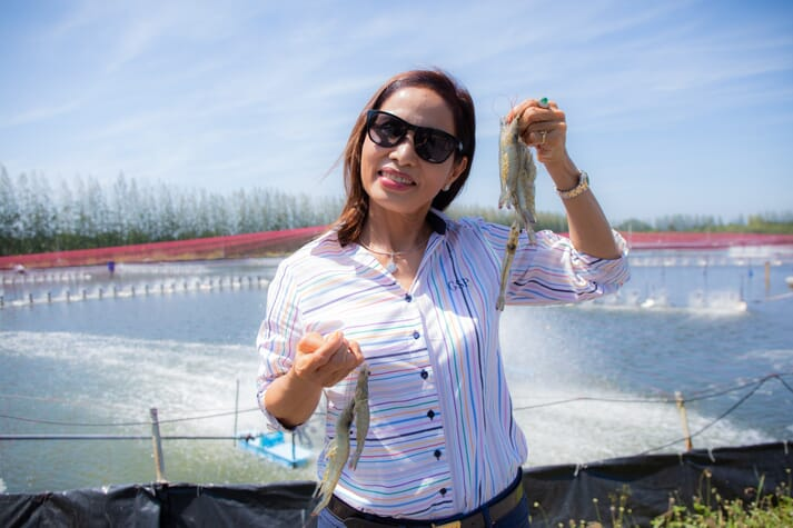 The scholarships aim to inspire the next generation of SE Asian women in the aquaculture sector, who may one day follow in the footsteps of inspirational figures such as Anne Thaisin, CEO of Quality Farms in Thailand