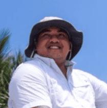 Harry Viafara, owner of Exporcareca shrimp farm, near Guayaquil