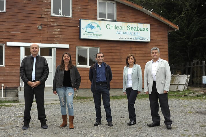 The team at Seabass Chile
