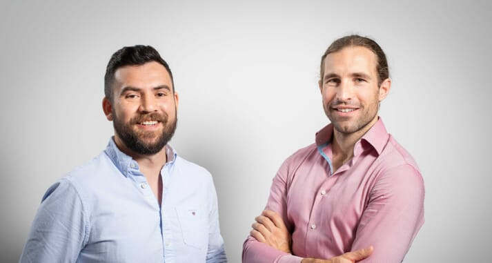 Allan Cannon and Kevin Quillen, founders of R3 IoT