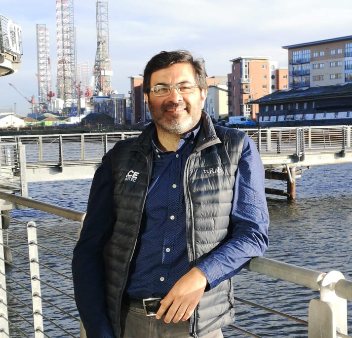José Luis Charpentier is Ace Aquatech's new regional manager in Chile