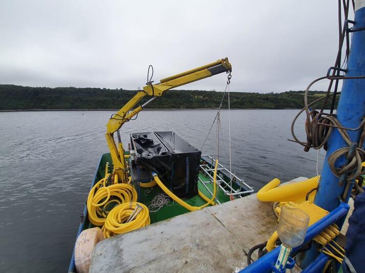 A Moleaer nanobubble generator deployed at a site