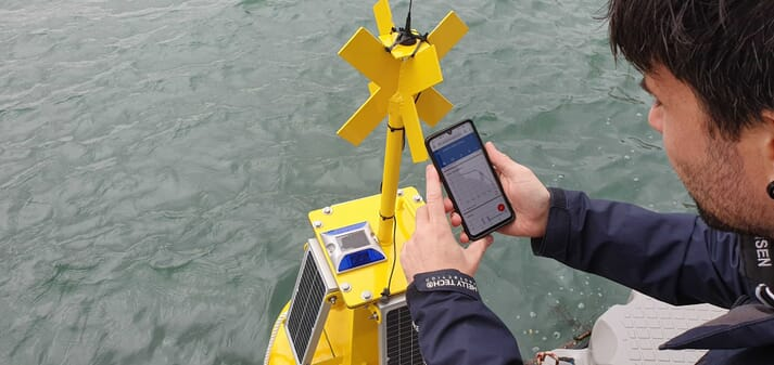 BiOceanOr's device, which measures water quality parameters as well as producing forecasts could have a positive impact on the health and welfare of farmed fish