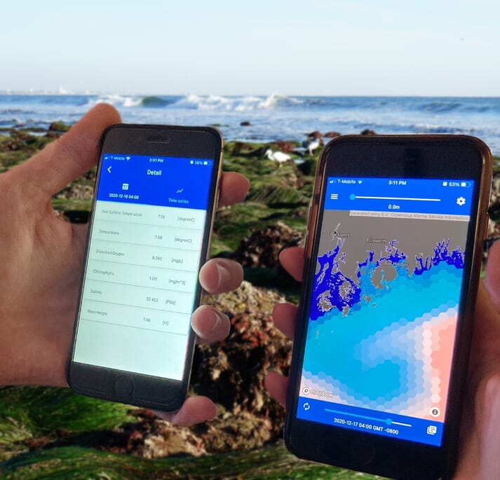 The app has been adopted by a range of fish and shellfish farmers