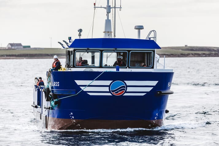 Scottish Sea Farms has already established two new sites in Orkney, including one at Westerbister, in the last three years