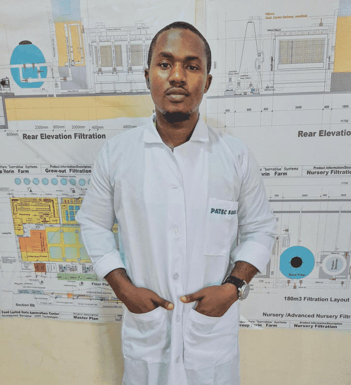 Abdulmalik is convinced of the value of adopting more technology in aquaculture