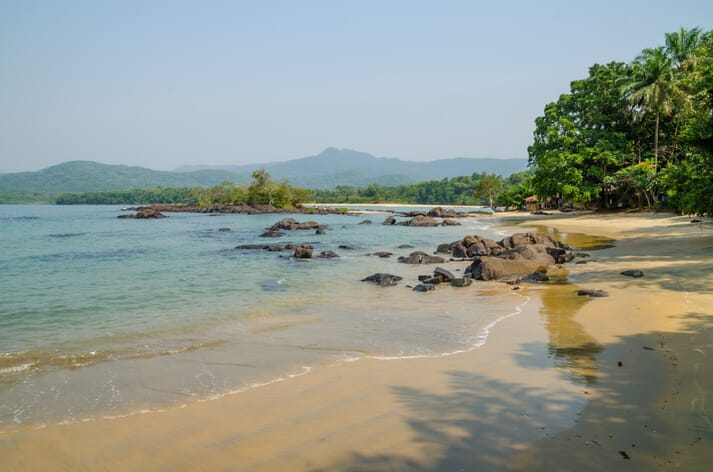 Black Johnson Beach, in Sierra Leone, has been earmarked as the site of a $55 million fishmeal factory