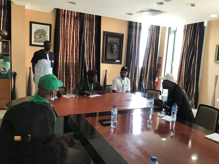 CAFAN meet with former Nigerian president, Olusegun Obasanjo, last week
