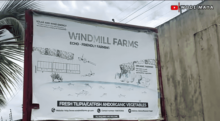 Windmill Farms sign