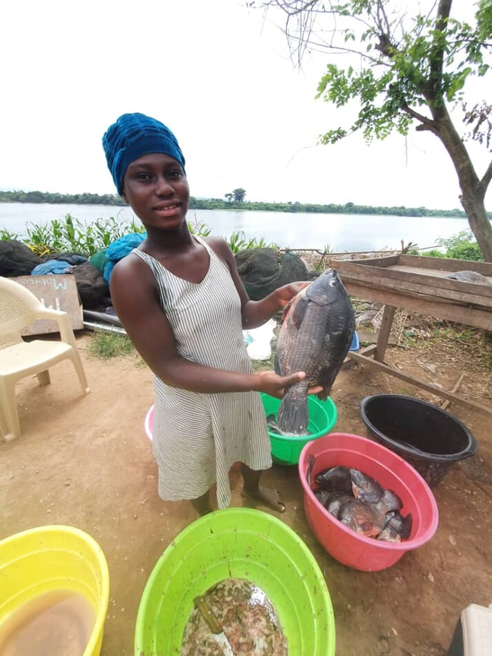 Both pond and cage tilapia farmers are both doing well at the moment
