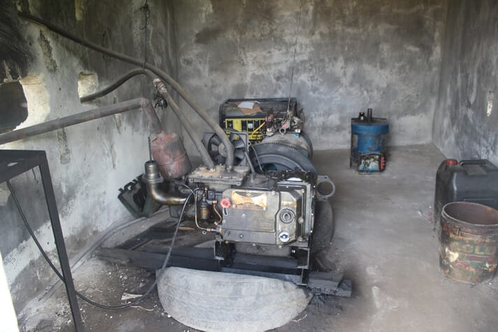 The generator at Ofanema 247 Ventures used 90 litres of diesel a day